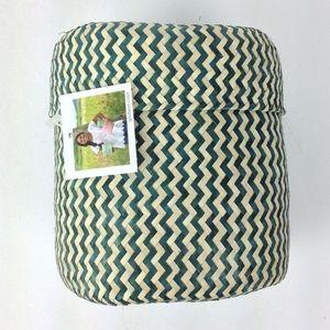 Handmade grass basket